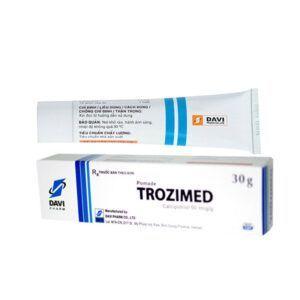 Trozimed tuýp 30g - Điều trị vảy nến mảng, mức độ nhẹ đến vừa