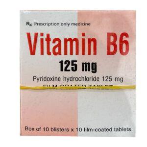 Vitamin B6 125