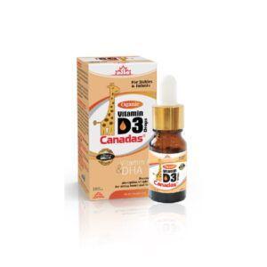 Vitamin D3 Canadas lọ 10ml