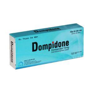 Dompidone Hộp 30 Viên