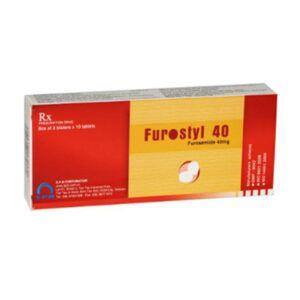 Furostyl 40 Hộp 30 Viên