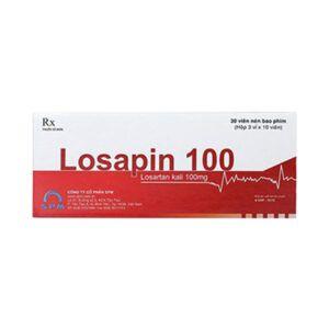 Losapin 100 Hộp 30 Viên