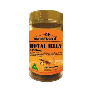 Royal Jelly 1000mg Hộp 365 Viên - Ngăn Ngừa Lão Hóa Da