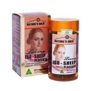 Iso Sheep Placenta Hộp 30 Viên - Cân Bằng Nội Tiết Tố Nữ