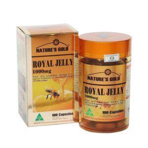 Royal Jelly 1000mg Hộp 100 Viên - Ngăn Ngừa Lão Hóa Da