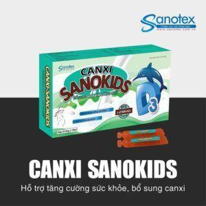 Canxi Sanokids Bổ Sung Canxi Cho Bé