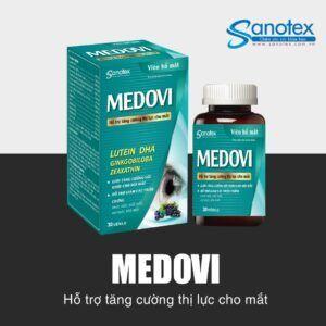 Viên Bổ Mắt Medovi - Tăng Cường Thị Lực Cho Mắt