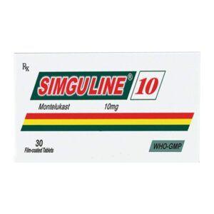 Simguline 10 Hộp 30 Viên - Điều Trị Hen Phế Quản Mãn Tính