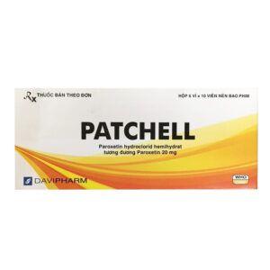 Patchell Hộp 60 Viên - Điều Trị Bệnh Trầm Cảm